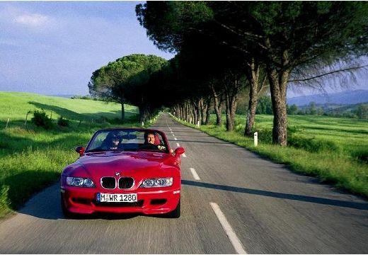 BMW Z3 roadster czerwony jasny przedni