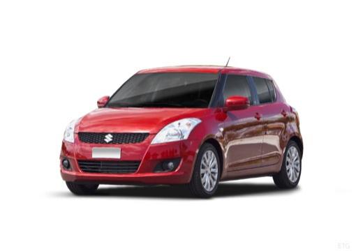 SUZUKI Swift III hatchback czerwony jasny przedni lewy