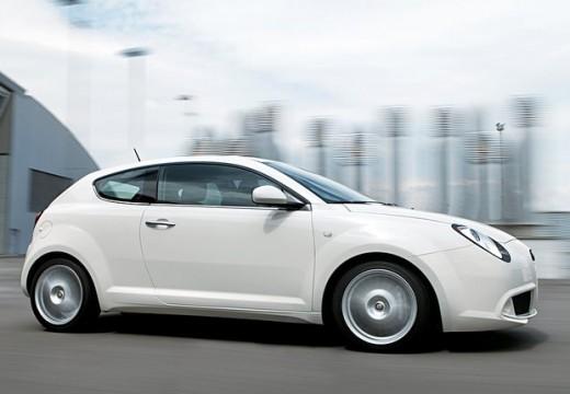 ALFA ROMEO MiTo hatchback biały boczny prawy