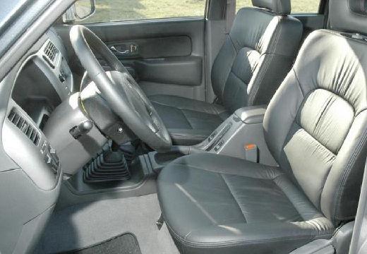 MITSUBISHI L 200 I pickup szary ciemny tablica rozdzielcza