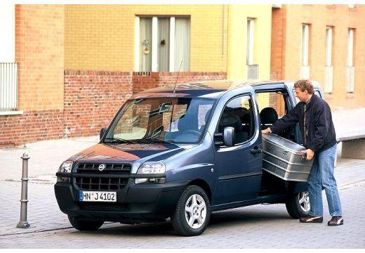 FIAT Doblo I kombi niebieski jasny przedni lewy