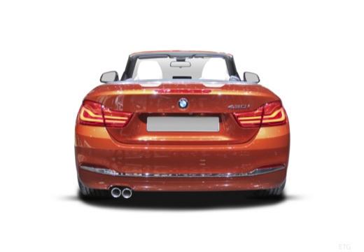 BMW Seria 4 Cabrio F33/F83 kabriolet tylny