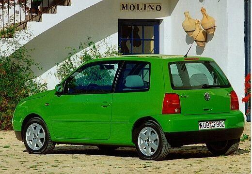 VOLKSWAGEN Lupo hatchback zielony jasny tylny lewy
