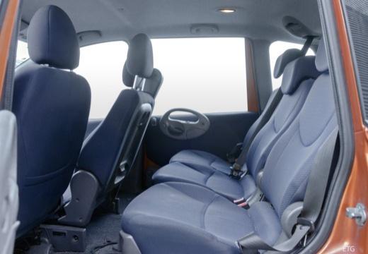 FIAT Multipla II kombi pomarańczowy wnętrze