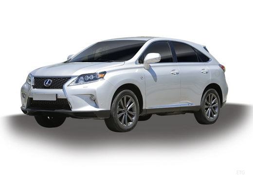 LEXUS RX III kombi silver grey