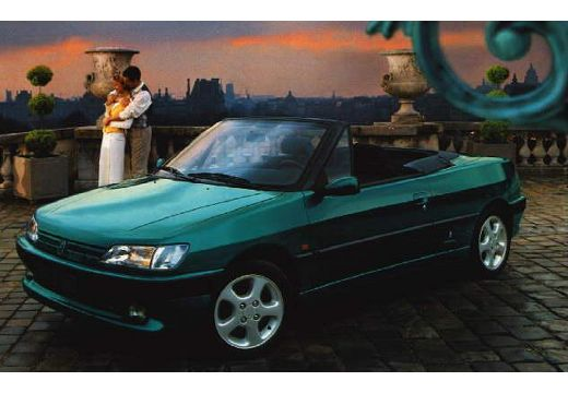 PEUGEOT 306 Cabrio I kabriolet przedni lewy