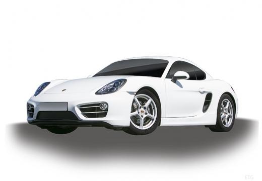 PORSCHE Cayman coupe biały