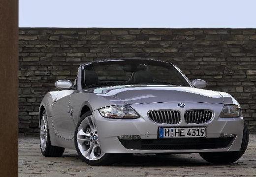 BMW Z4 E85 II roadster silver grey przedni prawy