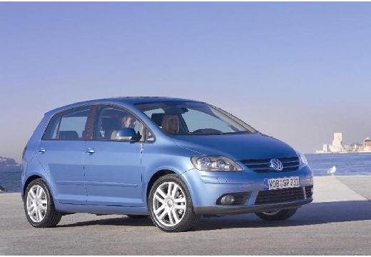 VOLKSWAGEN Golf V Plus hatchback niebieski jasny przedni prawy