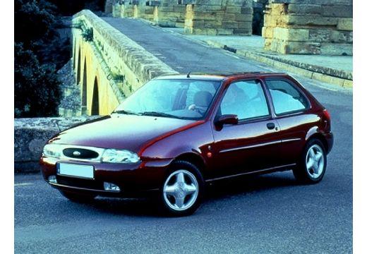 FORD Fiesta III hatchback bordeaux (czerwony ciemny) przedni lewy