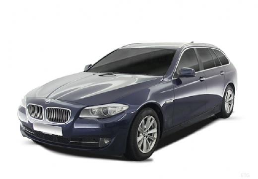 BMW Seria 5 Touring F11 I kombi niebieski jasny