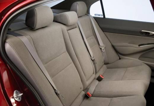HONDA Civic VI sedan bordeaux (czerwony ciemny) wnętrze