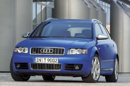 AUDI A4 Avant 8E I kombi niebieski jasny przedni lewy