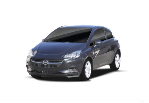 OPEL Corsa E hatchback czarny