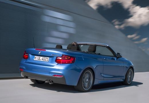 BMW Seria 2 Cabrio F23 I kabriolet niebieski jasny tylny lewy