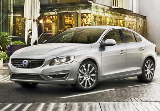 VOLVO S60 V sedan silver grey przedni lewy