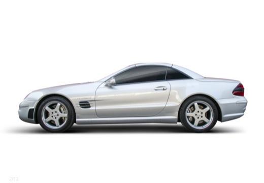 MERCEDES-BENZ Klasa SL roadster boczny lewy