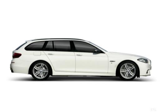 BMW Seria 5 Touring F11 II kombi boczny prawy