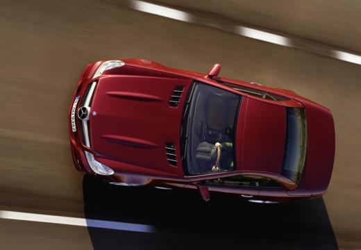 MERCEDES-BENZ Klasa SL SL 230 III roadster czerwony jasny górny przedni