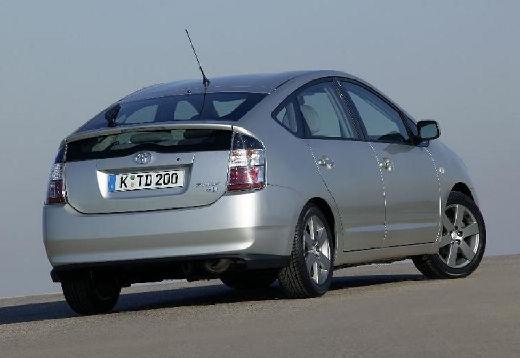 Toyota Prius I hatchback silver grey tylny prawy