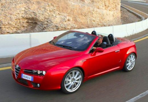 ALFA ROMEO Spider V kabriolet czerwony jasny przedni lewy