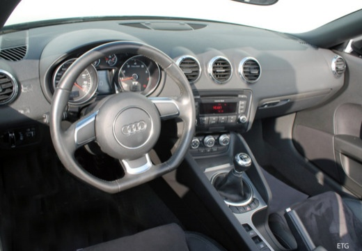 AUDI TT II roadster tablica rozdzielcza