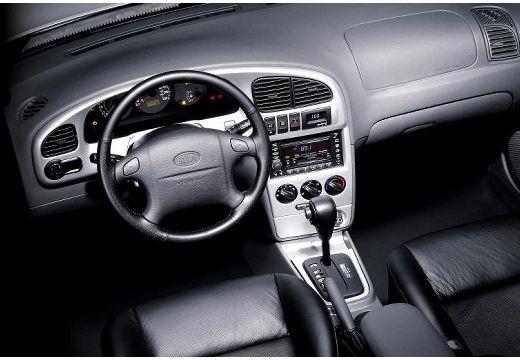 KIA Shuma II hatchback tablica rozdzielcza