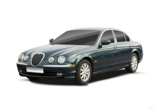JAGUAR S-Type II sedan zielony