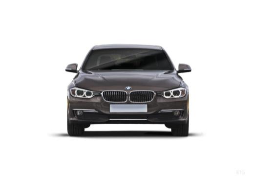 BMW Seria 3 F30 sedan szary ciemny przedni