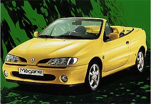 RENAULT Megane Cabrio I kabriolet żółty przedni lewy