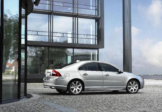 VOLVO S80 sedan silver grey tylny prawy