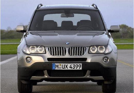 BMW X3 kombi szary ciemny przedni