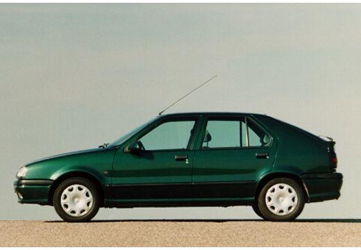 RENAULT R19 II hatchback zielony boczny lewy