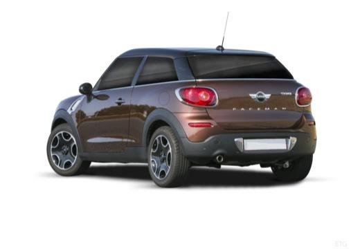 MINI [BMW] Paceman hatchback brązowy tylny lewy