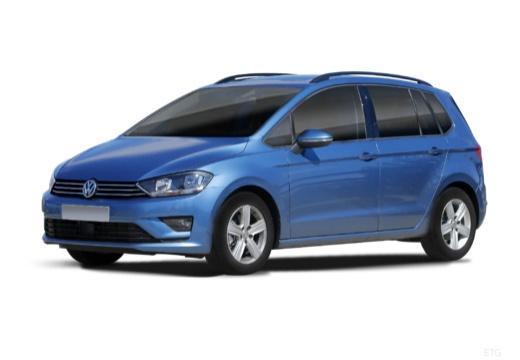 VOLKSWAGEN Golf VII Sportsvan I hatchback niebieski jasny przedni lewy