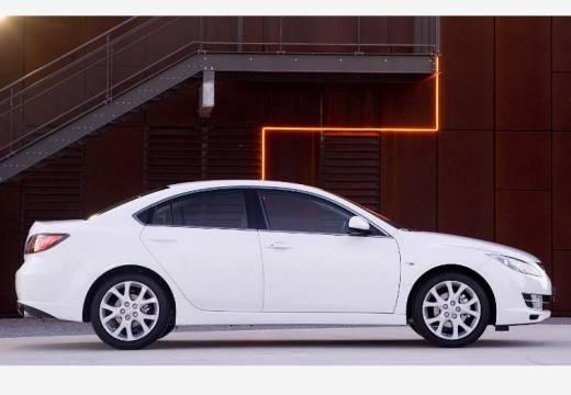 MAZDA 6 III sedan biały boczny prawy