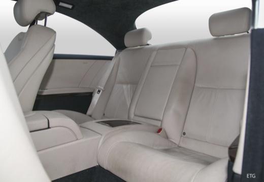 MERCEDES-BENZ Klasa CL C 216 I coupe wnętrze