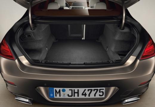 BMW Seria 6 Gran Coupe F06 I sedan przestrzeń załadunkowa