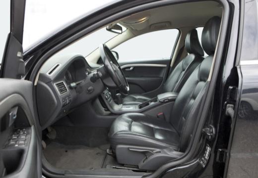 VOLVO S80 III sedan czarny wnętrze