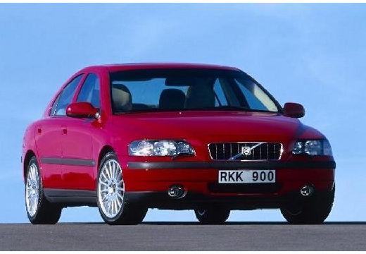 VOLVO S60 sedan czerwony jasny przedni prawy