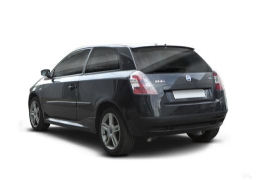 FIAT Stilo II hatchback czarny tylny lewy
