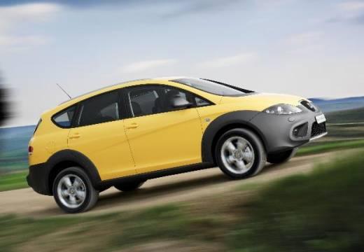 SEAT Altea XL II hatchback żółty boczny prawy