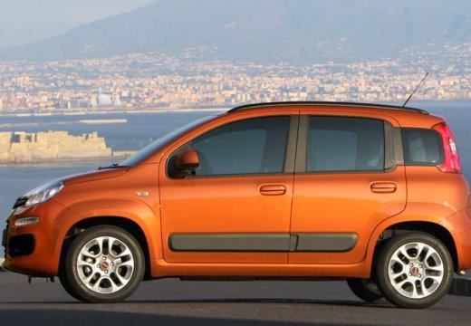FIAT Panda III hatchback czerwony jasny boczny lewy