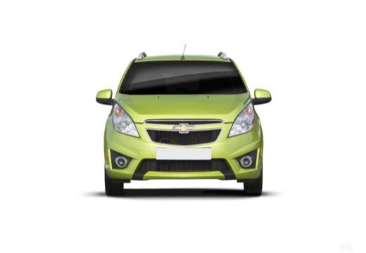 CHEVROLET Spark II hatchback zielony przedni