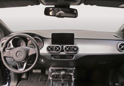 MERCEDES-BENZ Klasa X pickup tablica rozdzielcza