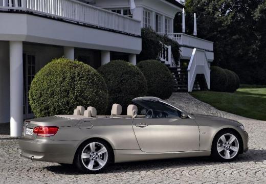 BMW Seria 3 Cabriolet E93 I kabriolet silver grey tylny prawy