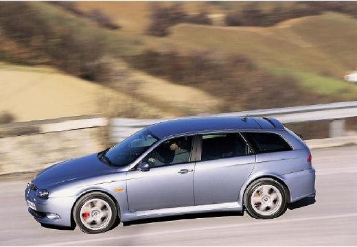 ALFA ROMEO 156 Sportwagon III kombi silver grey boczny lewy