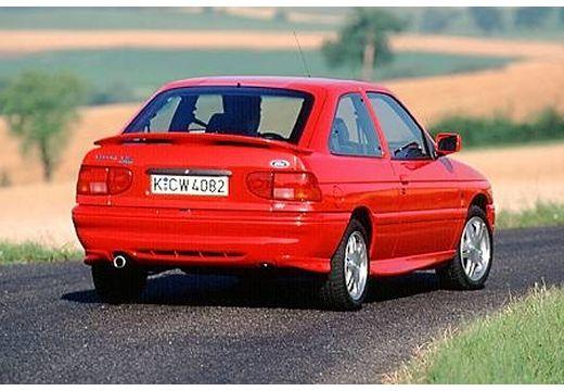 FORD Escort hatchback czerwony jasny tylny prawy