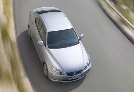 LEXUS IS III sedan silver grey przedni lewy