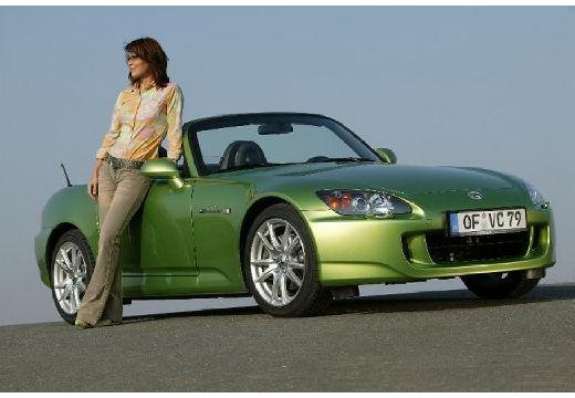 HONDA S 2000 I roadster zielony przedni prawy